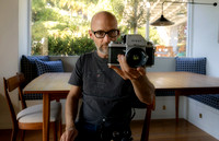 Moby and his Nikon