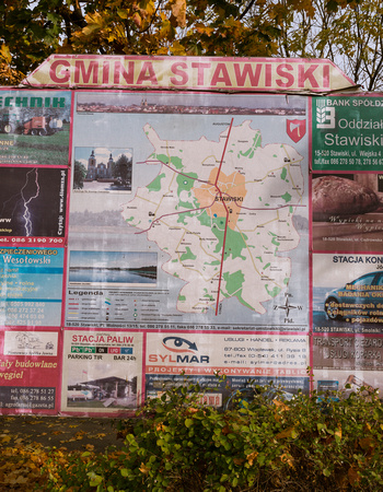 The town of Stawiski is about 75 miles from Bialystock on the road from Lomza